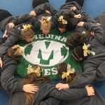 Medina High School Girls Varsity Gymnastics finishes 2nd place