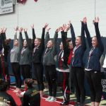 Medina High School Girls Varsity Gymnastics finishes 10th place
