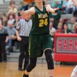 Medina High School Girls Varsity Basketball beat Saint Joseph Academy 42-34