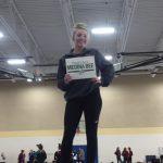 Medina High School Girls Varsity Gymnastics finishes 7th place