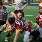 Boys Varsity Rugby falls to Walsh Jesuit 41 – 7
