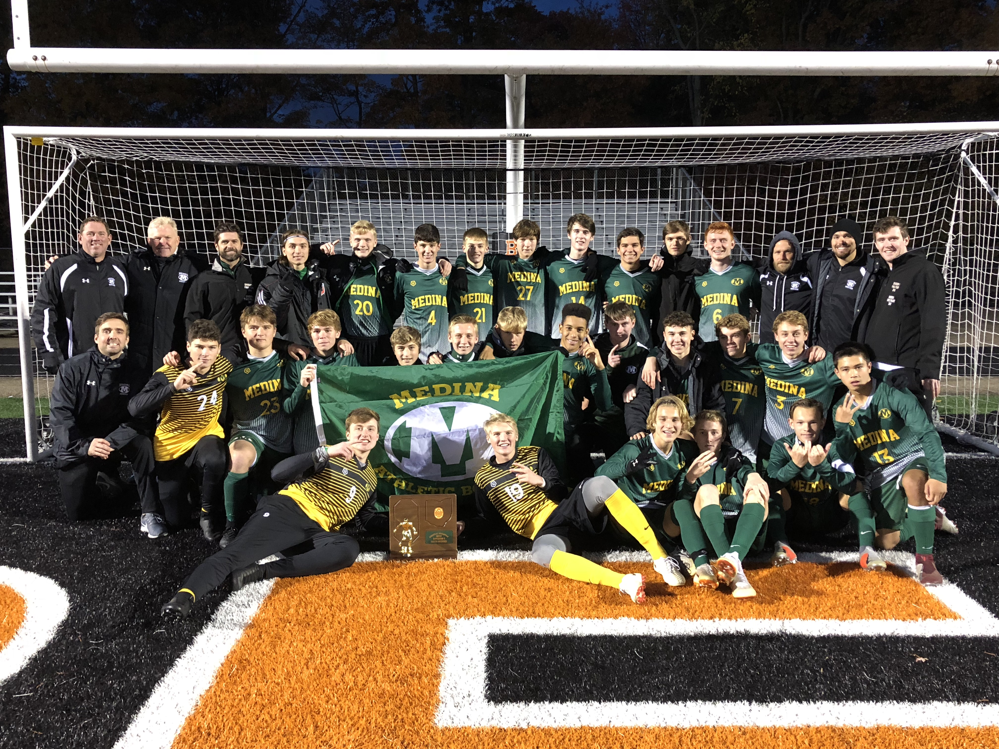Boys Soccer Team Returns to the State Championship Game for the 2nd Year in a Row