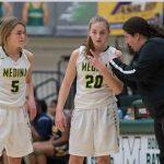 Medina Girls Basketball team beats Shaker Heights 75 – 18
