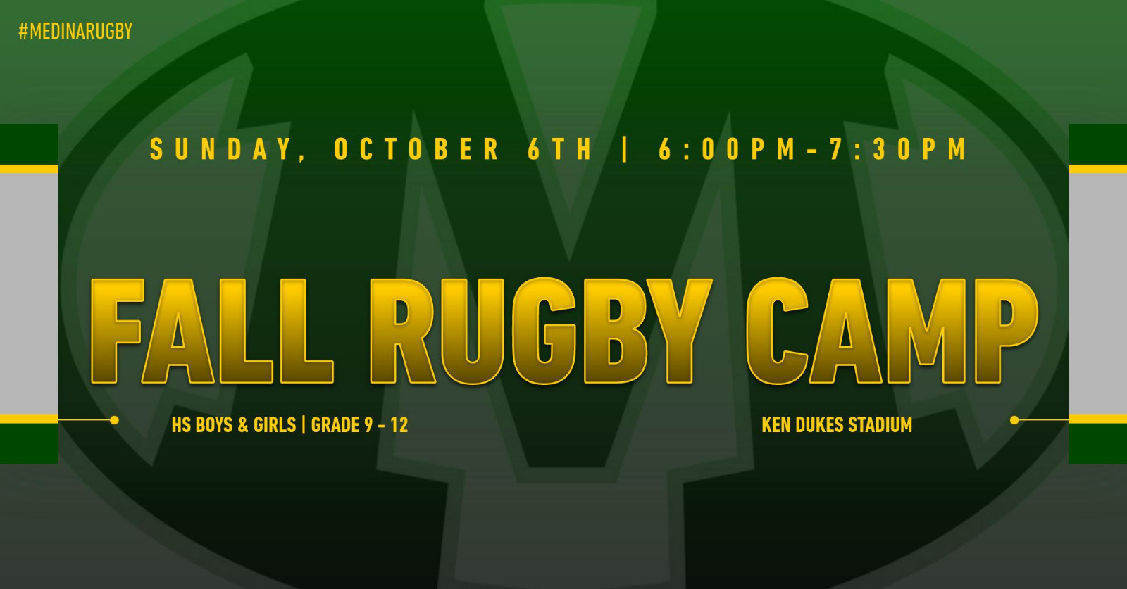 Fall Rugby Camp 10/6