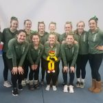 Girls Varsity Gymnastics finishes 1st place at Strongsville