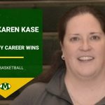 Congratulations to Coach Karen Kase on her 100th Career Coaching Victory