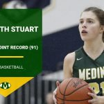 Congratulations to Elizabeth Stuart on Breaking the Career 3-Point Record at MHS