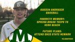 Baseball Senior Spotlight