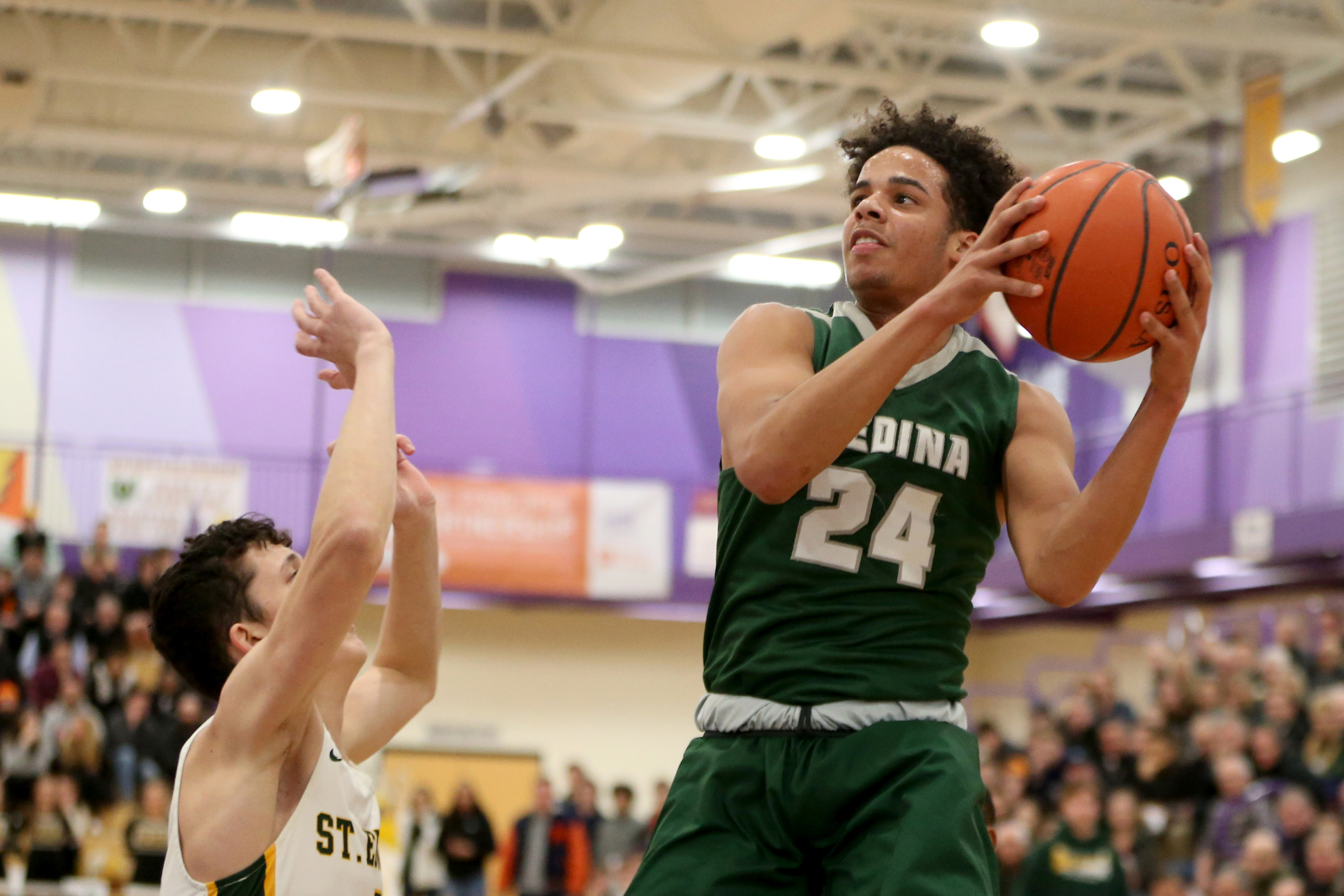 Live Coverage of the Medina Boys Basketball Game on Friday Night 12/4/20