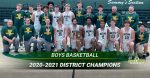2020-21 OHSAA Division I Boys Basketball District Champions