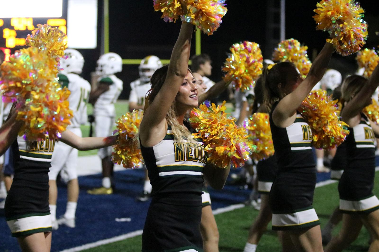 Medina High School 2021-2022 Cheerleading Tryouts