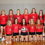 Varsity Volleyball Team 2018