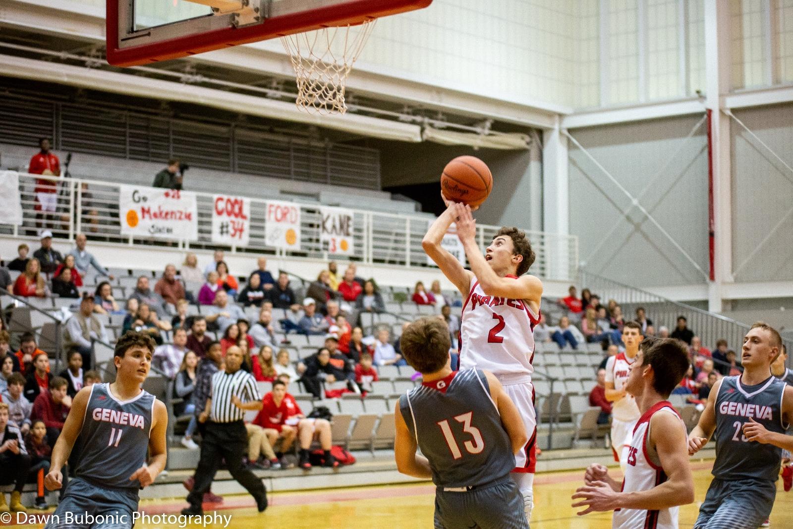 Boys Varsity Basketball vs. Geneva