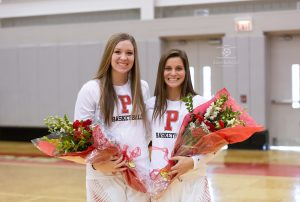 Girls Basketball Sr. Day vs. Chagrin