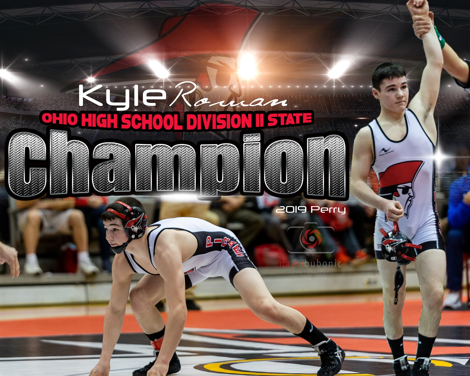 Kyle Rowan 106lb. Div. II State Champion