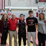 Wrestling Senior Day