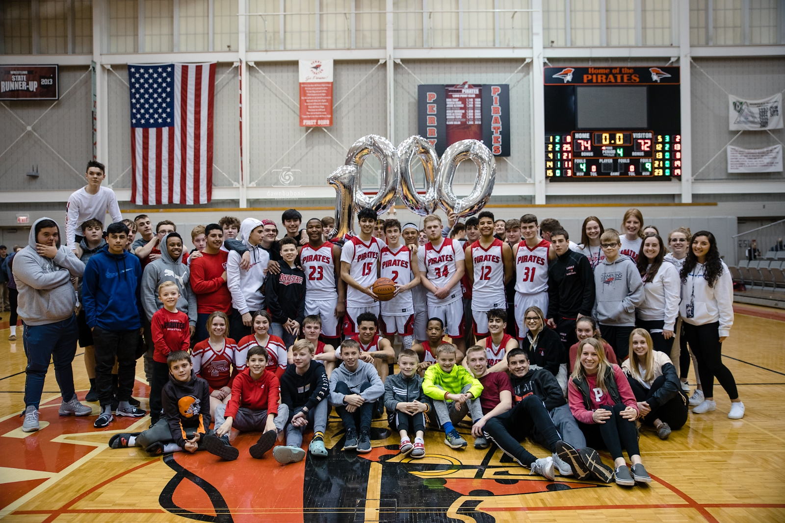 Perry Defeats Chardon & Schiano Scores 1,000th Point