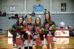 Girls Varsity Basketball Senior Day