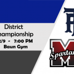 Bruins To Play Minico for the District Championship Today 2/9