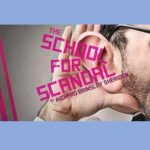 """Last Chances to See """"The School For Scandal"""" by the Bruin High Players"""