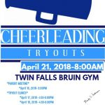 2018-2019 Cheerleader Tryouts