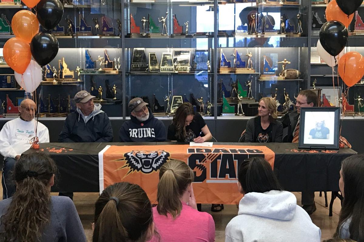 Twin Falls' Hutchinson signs with Idaho State track