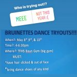 Bruinette Tryouts