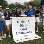 4A Girls Golf District State Champions – Brinlee Stotts 1st Place Individual Girl