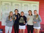 TFHS Lady Bruins Take 1st at District Golf