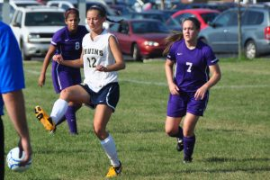 Girls Soccer vs. Greencastle 8/20/13