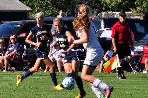 Girls Soccer vs. Covt. Christian 8/24/13