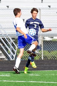Boys Soccer vs. Crawfordsville 9/7/13