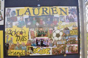 Boys/Girls Soccer vs. Frankfort 9/28/13 Senior Day