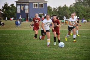 Girls Soccer vs. Danville 9/25/13