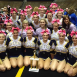 Cheerleaders take 1st Place at Purdue Competition