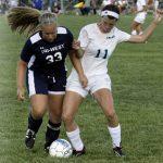 Tri-West High School Soccer Varsity Girls beats North Montgomery High School 6-0