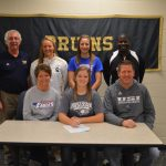 Claire Johnson Signs to play Softball at USI