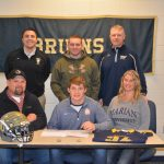 Drake Stahl Signs to Play Football