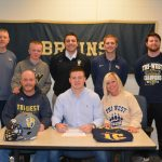 Wesley Cooks Signs to play Football