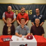 Derek Wagner Signs to play Baseball