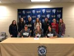 Faith McCoskey signs with Lincoln College