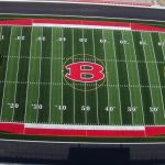 New turf ready for Friday Night Lights!!