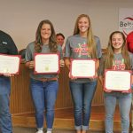 Former and Current Tigers Honored at Board Meeting