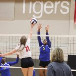 Lady Tigers varsity VB sweep LaVega in three sets in non-district tilt