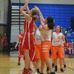 NBMS Girls' Basketball results vs. Bonham