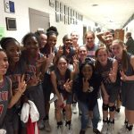 Lady Tigers Basketball Round2 in the playoffs