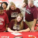 Savannah Henry signs with Southern Illinois University