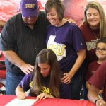 Abigail Kendall signs with Hardin Simmons