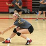 First four Lady Tigers volleyball two-a-days in books, scrimmages on Friday and Saturday
