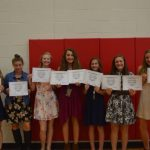 NBMS Athletic Awards